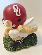 Oklahoma University NCAA College PEE WEE Football Player Figurine by Talegater