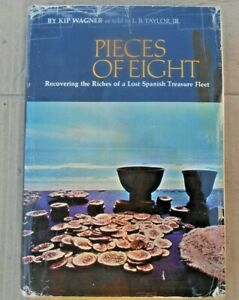 PIECES of EIGHT book Hunting for Treasure SILVER cannon COINS DOUBLOON GOLD dive