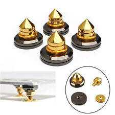 4sets M6 Speaker Spike Isolation Stand Cone Base Pads Stick-on Audio Amplifier