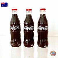 Mini Coke Bottle Set of 3 | Coca-Cola Miniature | Great for Coles Little Shop 2