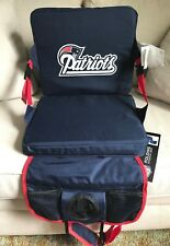 PATRIOTS NFL CUSHION FOLDING SEAT NEW WITH TAGS RARE
