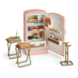 American Girl Doll Maryellen's Refrigerator and Food Set NEW in BOX!!