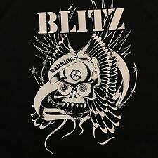Blitz Warriors Back Patch Punk Band UK82 Skinhead Punk Boot Boy NEW British Punk