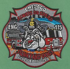 CHICAGO FIRE DEPARTMENT ENGINE COMPANY 115 PATCH