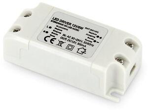 LED Transformer 6W 230V >12V - Suitable From 1W - Power Supply Light