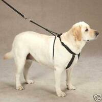 Anti Pull Dog Harness - Black - Adjustable - Comfortable - Guardian Gear No
