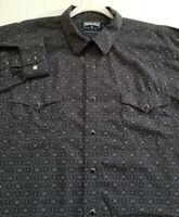 Panhandle Slim Men Long Sleeve Button Up Western Shirt XL Multicolor Floral Snap