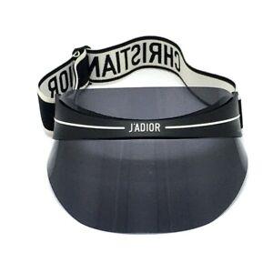 DIOR CLUB1_0H300 J'ADIOR DIORCLUB1 Hat Vinyl / Acetate Black x White