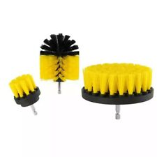 3pcs Drill Brush Power Scrubber Attachments For Carpet Tile Grout Home Cleaning