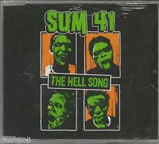 SUM 41 - The hell song CDs SINGLE 2002 4 TRACKS SEALED