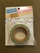 Red white mixed Washi Tape .625 inches x 26.25 ft. by Darice