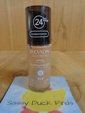 REVLON Colorstay Liquid Foundation 350 RICH TAN Combination Oily 24Hr Wear SPF15