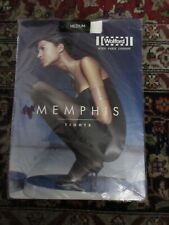 NWT Wolford Black M Memphis Tights Pantyhose New in Package Old Stock Rare