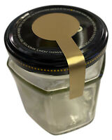 5 Colours Lollipop Shaped Tamper Proof Evident Jar Seal Stickers 5 sizes
