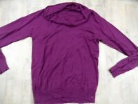 ANASTACIA by S.OLIVER leichter Pullover beere Gr. 38 TOP ZC1017