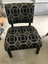 accent chair set of 2 FOA BRAND excellent condition home decor decorative accent