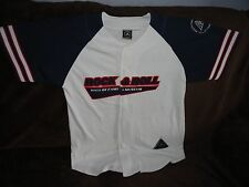 ROCK AND ROLL Hall of Fame + Museum Cleveland - Baseball Style Shirt Medium