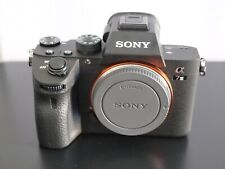 Sony Alpha A7 III Mirrorless Body Only. No Accessories
