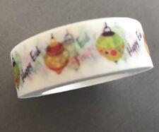 10m Happy Eid Colourful Washi Decorative Craft Tape Lanterns  Islamic