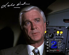 "Leslie Nielsen  10""x 8"" Signed Color PHOTO REPRINT"
