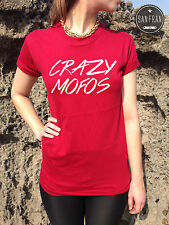 * NIALL HORAN CRAZY MOFOS T-shirt Top One Direction 1D TUMBLR Swag Fashion *
