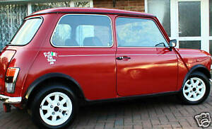 Italian Job Graphics Decals & Pin Striping FREE P+P UK supplier Reduced from £40