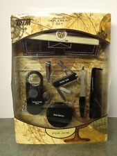World Traveler Personal Care Kit 7pc Set For Him-NIB! By Trim
