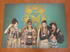 T-ARA N4 - Countryside Diary (2 Sided) [OFFICIAL] POSTER K-POP TARA *NEW*