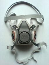 Atemschutzmaske Doppelfilterhalbmaske Größe M Serie 6000 von 3M - 1 Stück