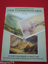 "Mint - 1989 ""J.M.W. Turner's ""(24) Cut-paper Postcards booklet"