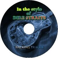 DIRE STRAITS IN THE STYLE OF GUITAR BACKING TRACKS AUDIO CD BEST GREATEST HITS