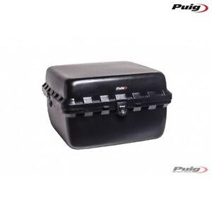 PUIG 0390N BAULETTO BIG BOX LOCK 60L NERO CON PIASTRA UNIVERSALE MOTO SCOOTER