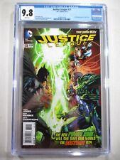 Justice League #31 CGC 9.8 1st Full Jessica Cruz Power Ring Green Lantern 2014