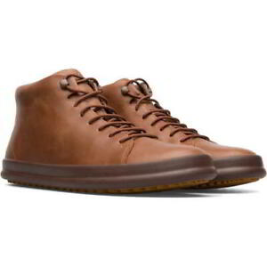Camper Chasis Sport Hoops Mens Brown Leather Chukka Ankle Boots Size 8-12