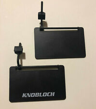 Pair Knobloch adjustable sideshield for shooting glasses in Frost