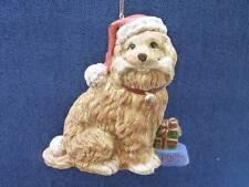 "Beautiful Cocker Spaniel DOG RESIN Resin  Christmas Ornament  NEW 6"" (o567)"