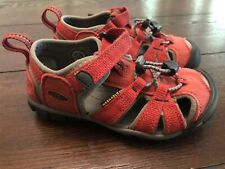 KEEN Size 10 Toddler Red Sandals EUC