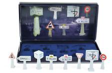 1/43 Norev Accessoires Boite De 8 Panneaux De Signalisation Neuf