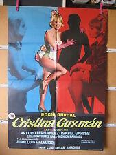 A1017  CRISTINA GUZMAN.- ROCIO DURCAL, ARTURO FERNANDEZ