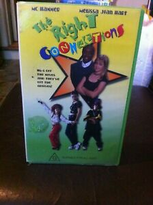 The Right Connections VHS MC Hammer Melissa Jean Hart children's family comedy