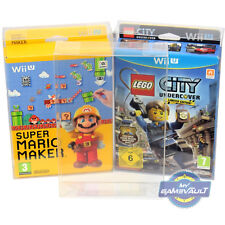 3 x Game Box Protector for Wii U Special & Limited Strong 0.5mm PET DISPLAY CASE
