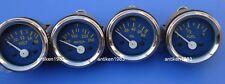 "2"" / 52mm Electrical Oil Pressure Temperature Volt Fuel Gauge -Blue Face"