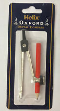 Helix Oxford Metal Compass With Pencil