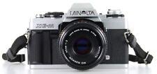 Minolta XG-M Lens Minolta MD Rokkor 45 mm 1:2   (Réf#A-011)