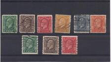 A016 Classic used canadian stamps, King George V