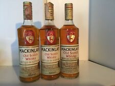 MACKINLAY'S OLD SCOTCH WHISKY 75 CL 40% VOL 5 OLD YEARS 3 BOTTIGLIE VINTAGE