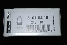 PARKER Legris dritto Adattatore alesaggio da 4 mm dimensione 4mm EXT Dia. M5 Filettatura # 31010419