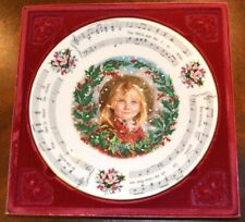 Royal Doulton Collectors Plate 1987 Christmas Carols Original Box