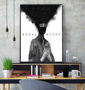 Royal Blood Debut Self Titled Album Cover Poster Professional Grade Photo Print