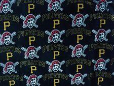 "1-MLB PITTSBURGH PIRATES 100% COTTON PRINT BODY PILLOW CASE 20'X52"""